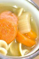 Cómo hacer sopa de fideos de pollo desde cero con todos los ingredientes Inicio