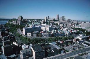 Viaje en tren a la ciudad de Quebec