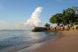 Hoteles y centros turísticos en Pattaya, Tailandia