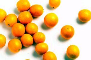 Objetos relacionados con las naranjas