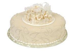 ¿Qué es la formación de hielo sucio en la torta que adorna?