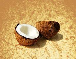 Forma de guardar un coco fresco