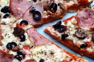 Cómo Grill una pizza congelada