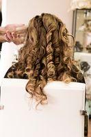 Como estilo de pelo largo en ondas sueltas