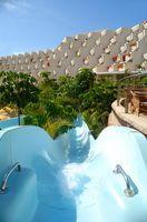 Centros turísticos y hoteles, con un parque de agua, cerca de Palm Coast, Florida
