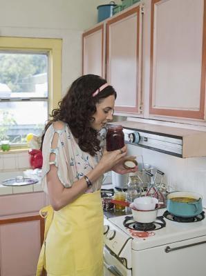 Cómo mantener Fresas De La decoloración Cuando Canning jalea de fresa