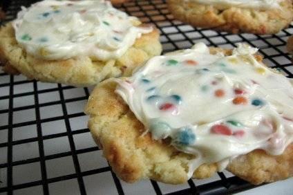 Cómo hacer galletas de Funfetti Cake Mix