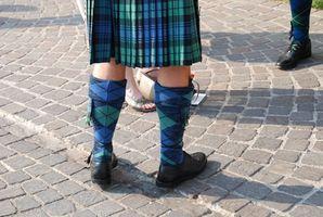 Cómo hacer una falda Kilt