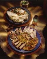 Diferencias entre una Tortilla Fajita y escribir una Tortilla Burrito