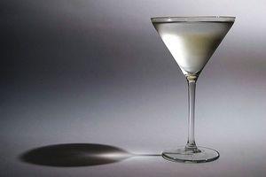 Las bebidas mixtas hecha con vodka