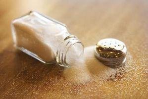 Diferencia entre decapantes sal y la sal de mesa