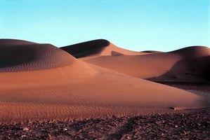 Los cinco mayores desiertos