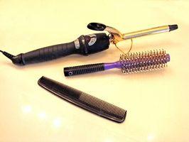 Cómo limpiar los productos pelo de un rizador