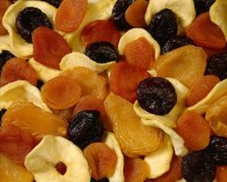 Cómo congelar las frutas secas