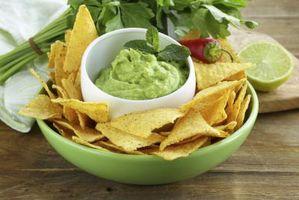 Tiempo para disfrutar de los chips de tortilla