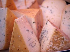 ¿Por qué es azul kosher queso?