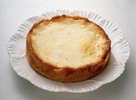 ¿Cómo hacer pastel de queso sin dorar el Top