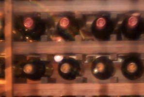 Casera estante del vino