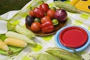Cómo congelar los tomates y maíz en la mazorca