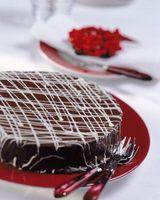 Los sustitutos de chocolate semidulce en ganache