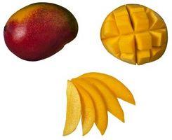 Cómo hacer la entrega de un mango verde