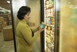 Cómo mantener los alimentos fríos Mientras que en la pantalla