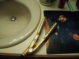 Cómo alisar el cabello con una plancha de cerámica