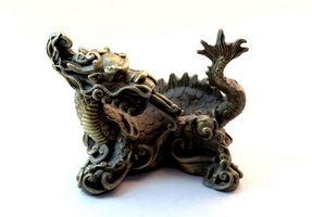 Ideas del tatuaje del dragón chino