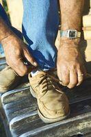 Cómo quitar el olor de los zapatos Benceno