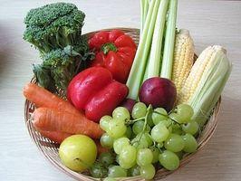 Tipos de Frutas y verduras