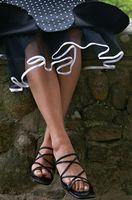 Cómo coser una falda de crinolina