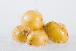 Cómo pelar patatas tempranas