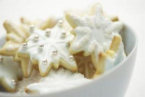 Como hielo en las galletas que puedas decorar