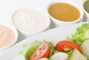 Diferencia entre la salsa y aderezo