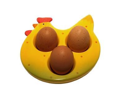 ¿Cuánto tiempo puede Deja huevos duros hacia fuera?