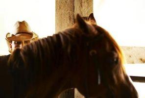 Paso a paso las instrucciones sobre Cómo Saddle un estilo occidental del caballo
