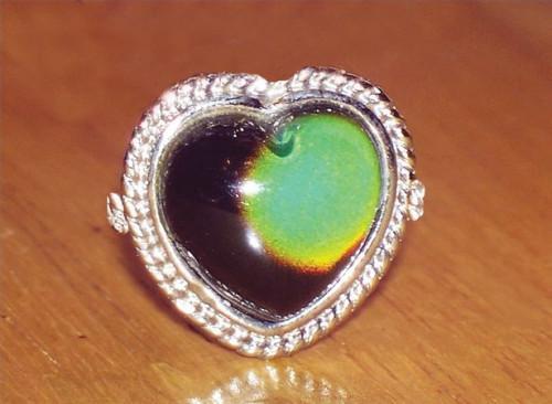 ¿Cuáles son los colores de un anillo de humor?