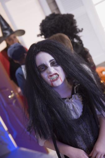 Vampiro peinados chica