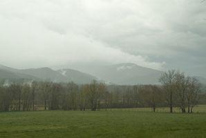¿Cómo puedo alquilar una cabaña aislada en las montañas ahumadas en Tennessee?