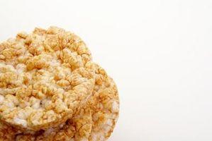 Ideas del bocado dulce y crujiente saludables