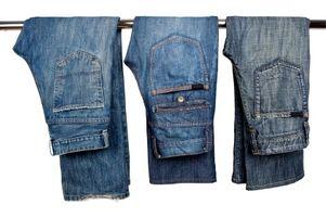 Cómo los pantalones vaqueros de socorro