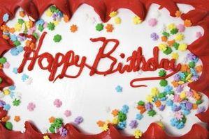 Ideas de decoración de la torta de cumpleaños para un 33 años de edad Masculino