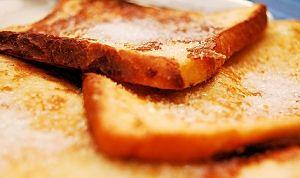 Cómo hacer pan tostado Azúcar