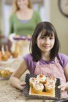 Ideas para hacer un montón de magdalenas En una torta