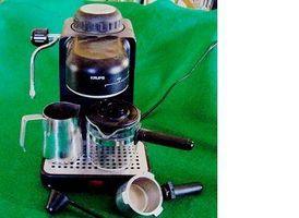¿Cómo funciona una máquina de capuchino?
