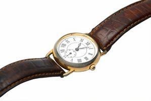 Cómo reparar un reloj Seiko Band