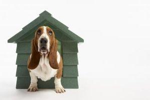 Cómo hacer una cubierta interior de la perrera