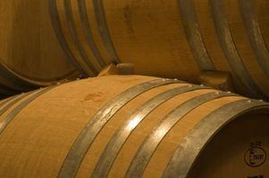 Cómo almacenar los barriles de vino
