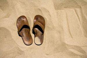 Cómo Remojar las sandalias del arco iris