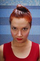 Como el color del cabello sin convertirlo Naranja